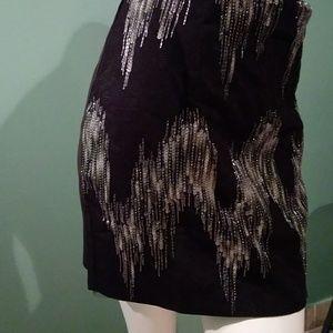 Massimo Rebecchi Skirts - Black and grey sequin skirt